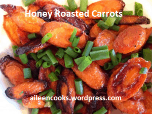 honey roasted carrots from Aileen Cooks