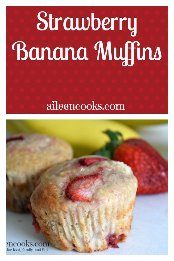 Our favorite banana muffin recipe. This recipe can be made with either fresh or frozen strawberries. Either will be a delight to your taste-buds.