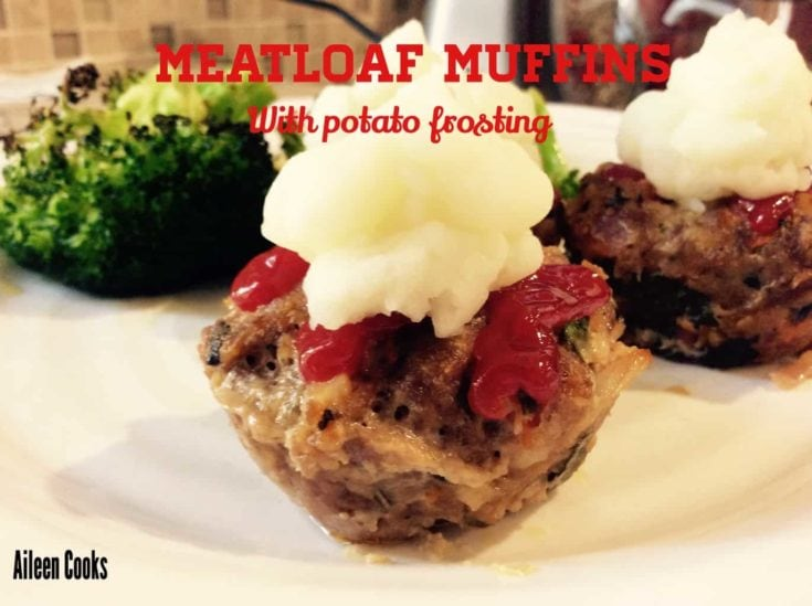 Make your own bite-sized meatloaf muffins and top them off with a dollop of mashed potatoes for frosting.