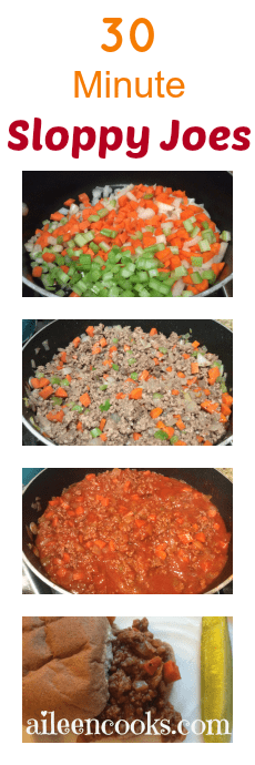 Sloppy Joes from Aileen Cooks