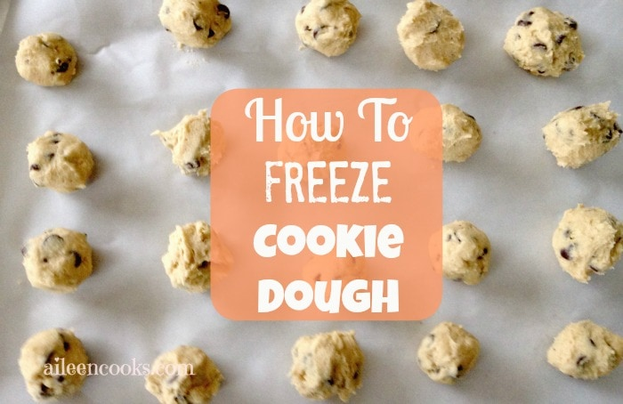How to Freeze Cookie Dough - Aileen Cooks