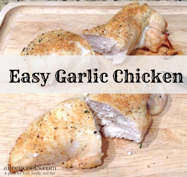 Easy Garlic Chicken 5