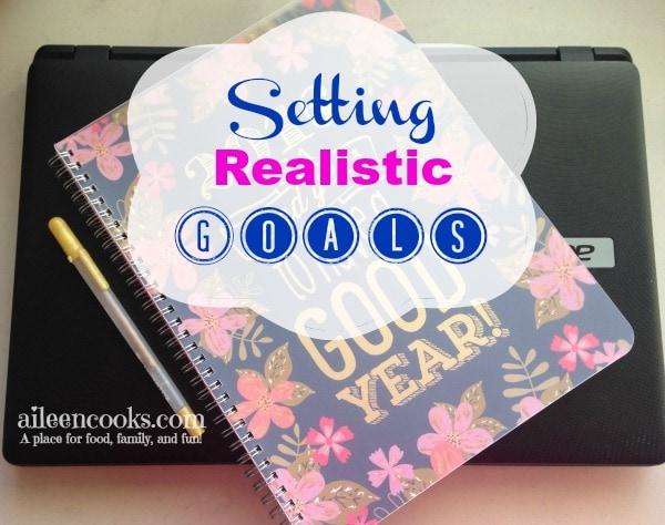Setting Realistic Goals 2
