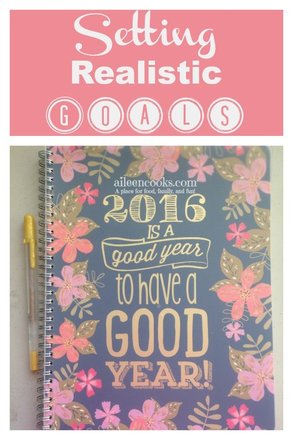 Setting Realistic Goals 3