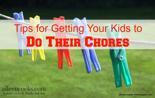 Practical tips for getting your kids to do their chores