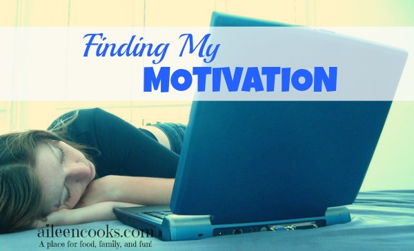 Finding my motivation to continue blogging