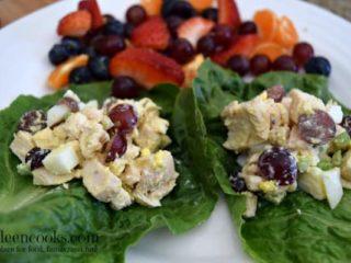 Chicken Salad Lettuce Wraps