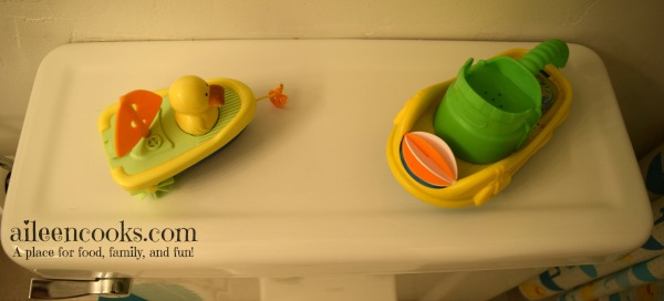 Little Duckies Kids Bathroom Reveal aileencooks.com