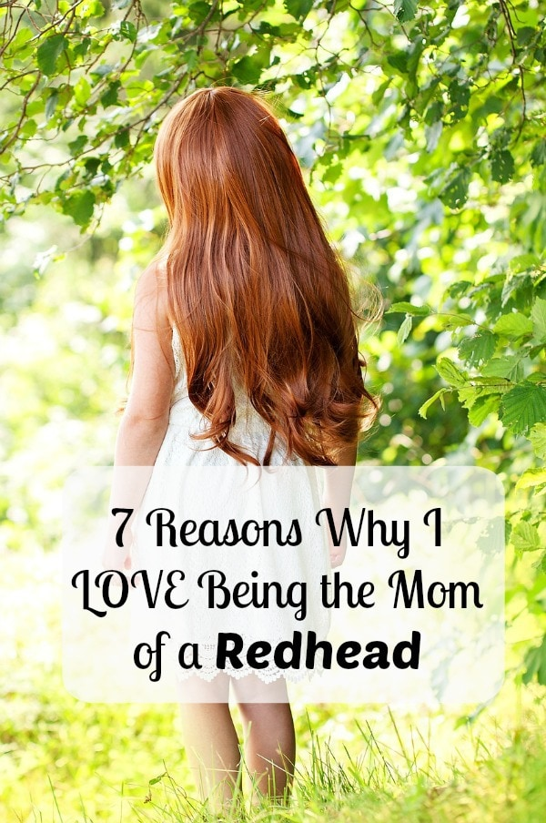 7 Reasons Why I LOVE Being the Mom of a Redhead | aileencooks.com
