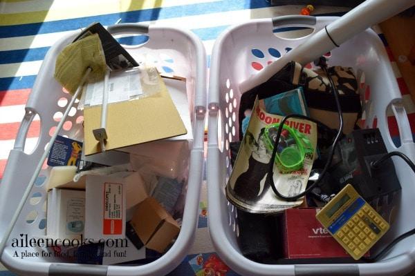7 Day De-Cluttering Challenge Day Three Kid's Closet3