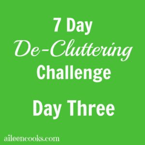 7 Day De-Cluttering Challenge Day Three Kid's Closet3