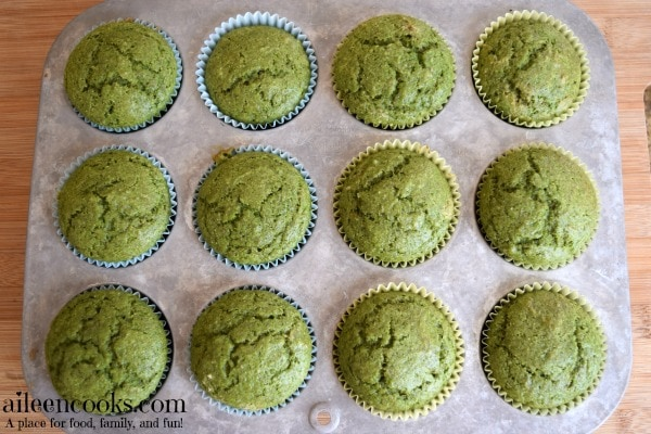 Kid Friendly Spinach Muffins Recipes from aileencooks.com. My kids love these!