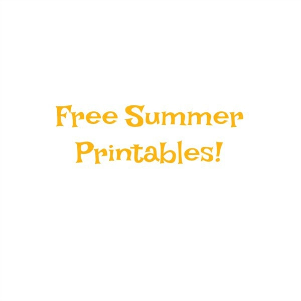 Grab your free summer printables from aileencooks.com featuring a printable summer schedule and printable beach day packing list.
