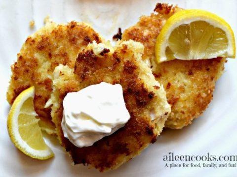 Tilapia Fish Cakes with Potato
