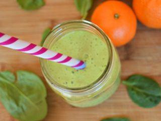 Orange Spinach Smoothie