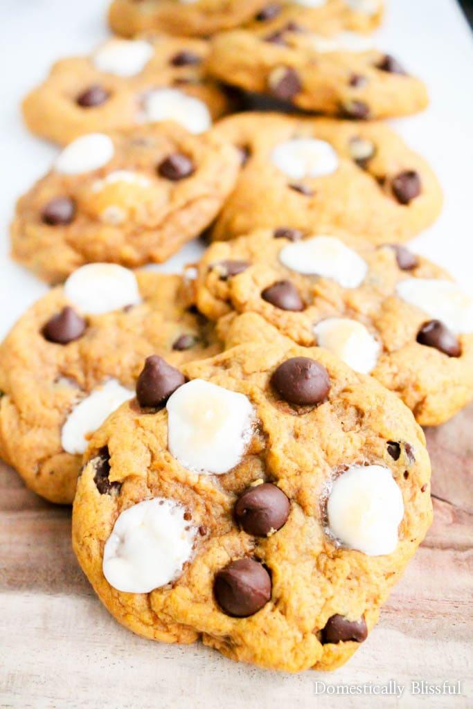 smores-pumpkin-spice-cookies