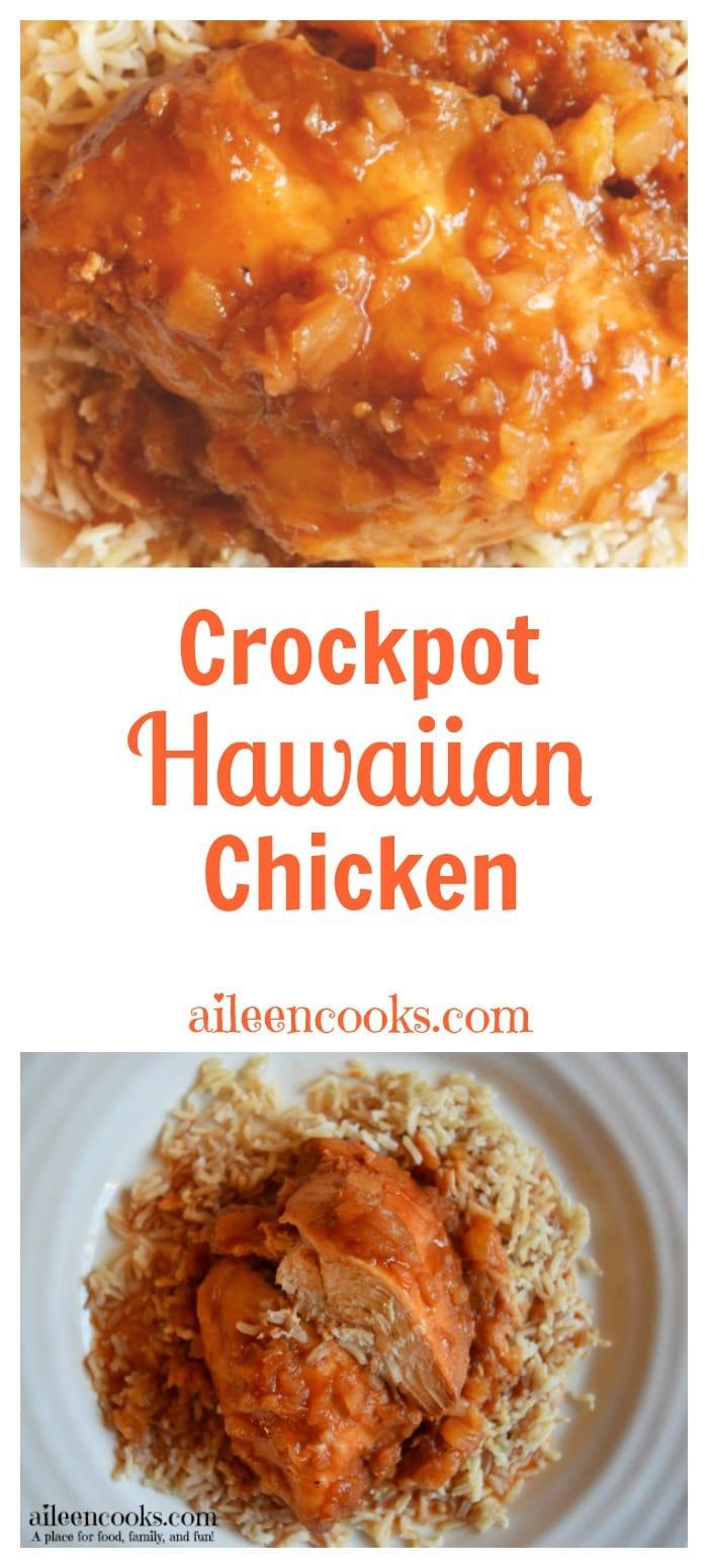 Crockpot Hawaiian Chicken Aileen Cooks