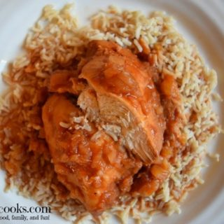 5 ingredient crockpot hawaiian chicken. This is an easy and healthy slow cooker chicken recipe that takes just 10 minutes to prepare. Recipe from aileencooks.com.