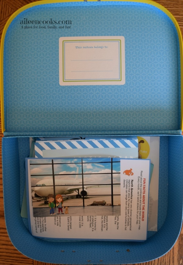 Little Passports Review. My honest review of the early explorers subscription box. Review from aileencooks.com.