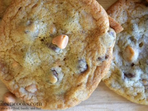 Chocolate Butterscotch Chip Cookie Recipe