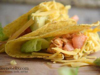 Instant Pot Salsa Chicken Tacos