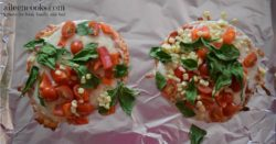 Cooking With Kids: Colorful Pita Pizzas. Get your kids in the kitchen with this fun and flavorful recipe for kids. Recipe from aileencooks.com.