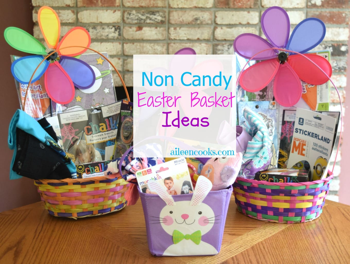 Non candy easter basket ideas aileen cooks non candy easter basket ideas for baby preschooler and toddler age groups most negle Gallery