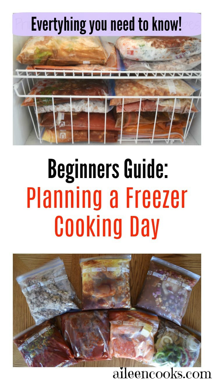 The holy grail of freezer cooking tips. Plan a successful freezer cooking day and grab the two free printable freezer meal plans