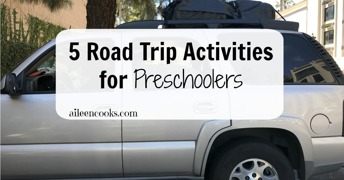 Keep your kids entertained with these 5 screen free activities for road trips.