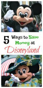 5 Ways to Save Money at Disneyland