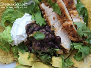Black Bean and Chicken Taco Salad