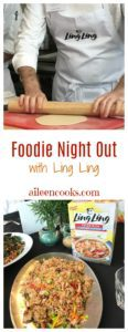 Foodie night out with Ling Ling Fried Rice