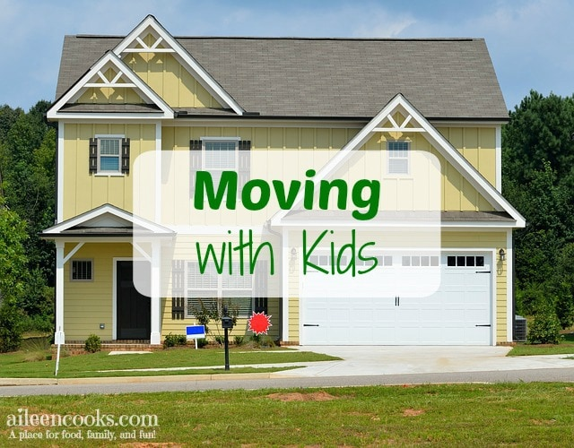 Moving with Kids: How we moved with 3 kids 5 and under.
