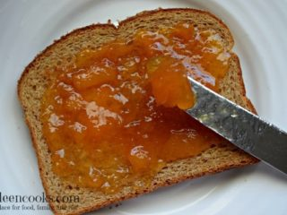 Instant Pot Peach Jam (Freezer Jam)