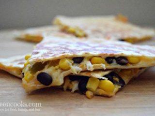 Black Bean & Corn Quesadillas