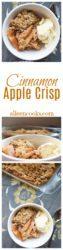 Make this Cinnamon Apple Crisp and celebrate fall's favorite fruit!