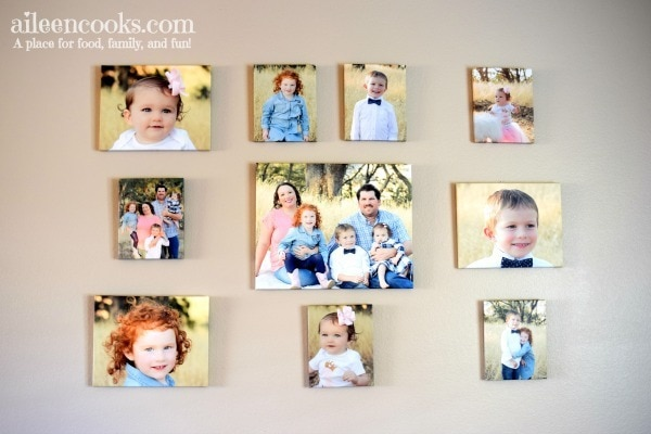 Learn how to make your own gallery wall with this easy tutorial and a sneak peek at our new canvas prints!