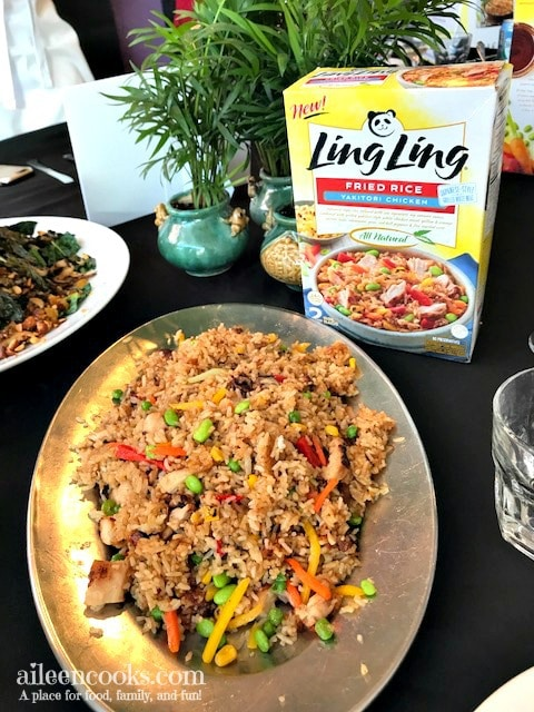 Ling Ling cooking event in San Francisco with Chef Katie Chin.