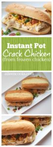"""This recipe is called """"crack chicken"""" because it's hard not to eat it all in one sitting! You can serve it on crackers, rolls, or over salad. Yum!"""