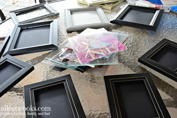 How To Spray Paint Picture Frames Aileen Cooks