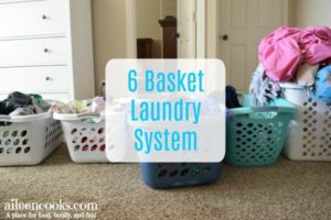 6 Basket Laundry System