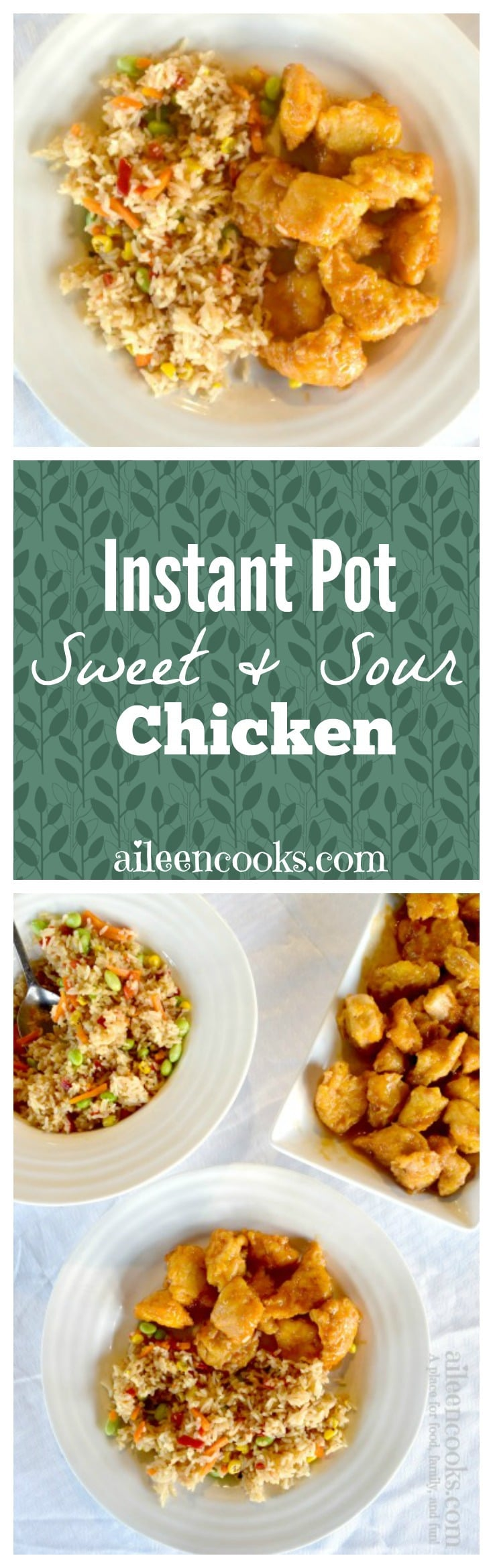 Enjoy delicious Chinese food at home with this recipe for Instant Pot Sweet and Sour Chicken. This recipe tastes just like take-out and it's ready just as fast, thanks to your handy pressure cooker.
