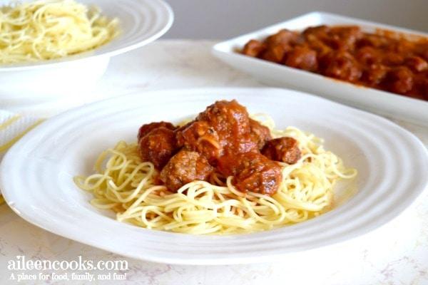meatballs-spaghetti