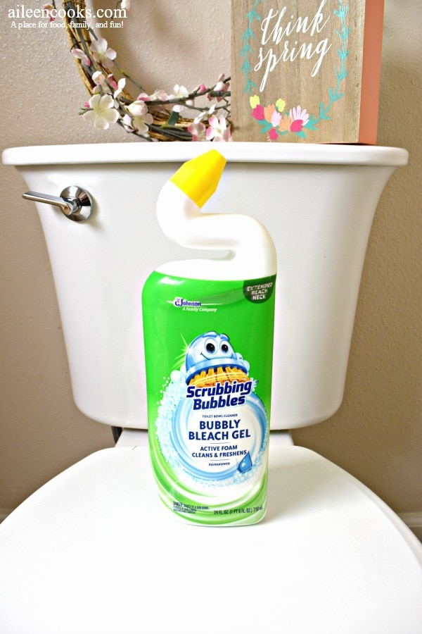 scrubbing bubbles toilet bowl cleaner