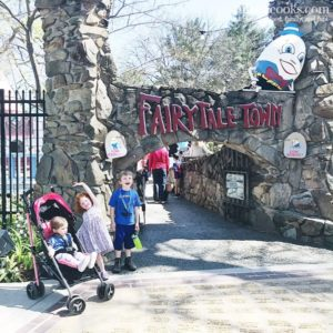 Fairytale Town with Three Kids
