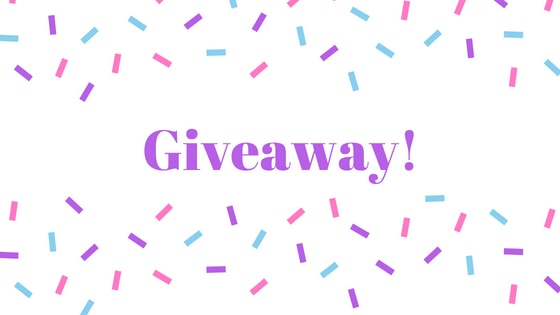 giveaway image with sprinkles