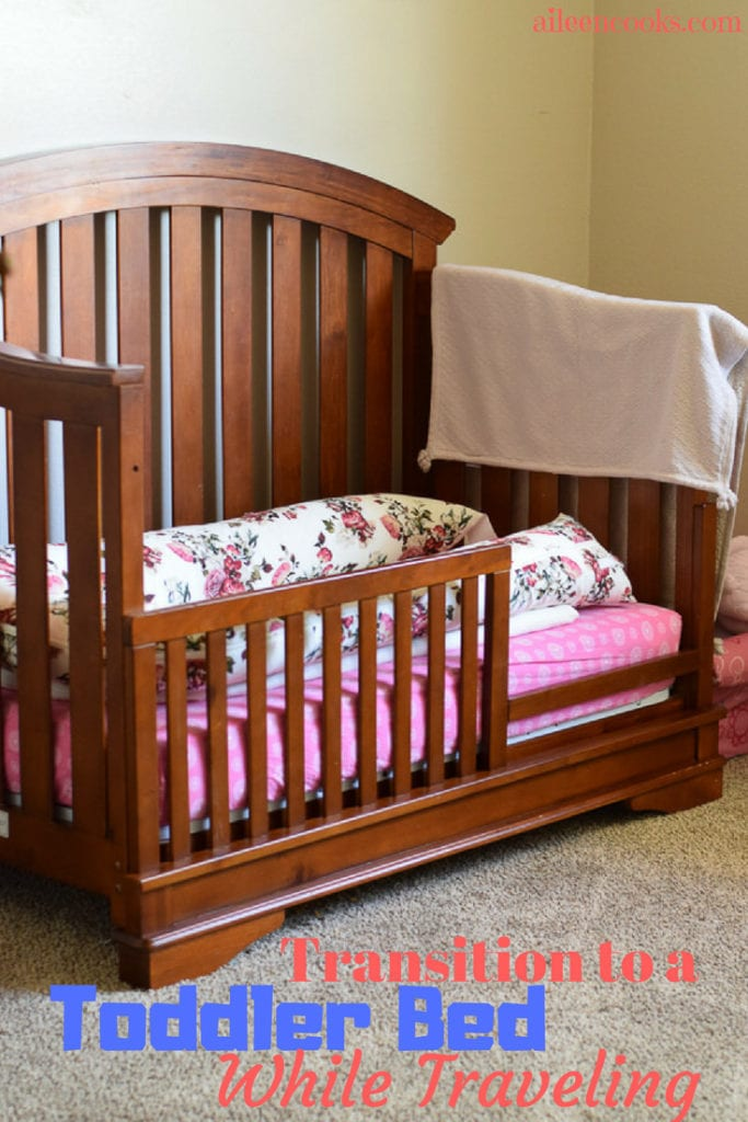 toddler bed with dockatot grand inside.