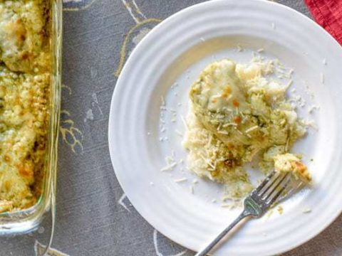 Baked Pesto Chicken Recipe