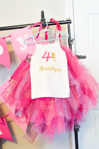 no sew tutu hanging on hanger