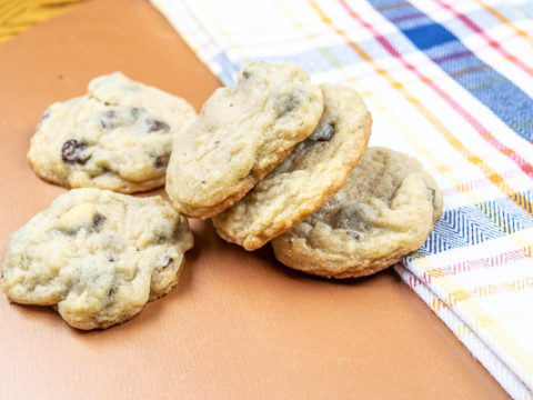 Salted Chocolate Chip Cookies